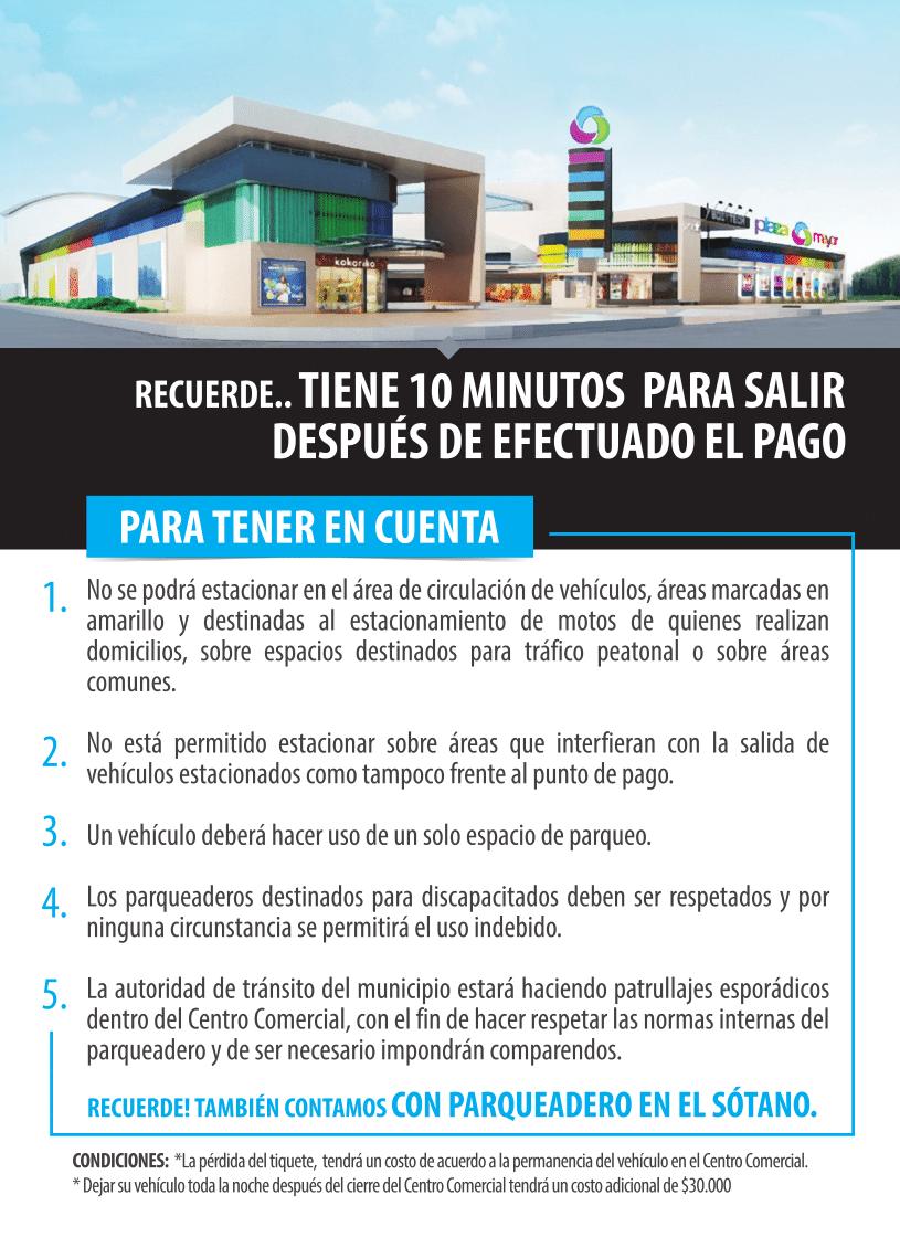 Parquedero - Plaza Mayor Paseo Comercial