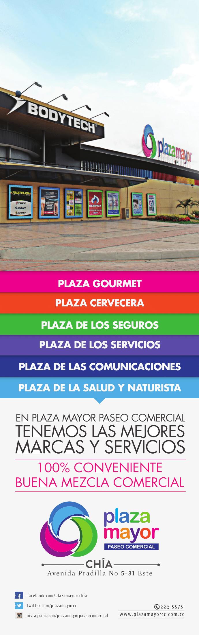 Plaza Mayor Paseo Comercial - Chía